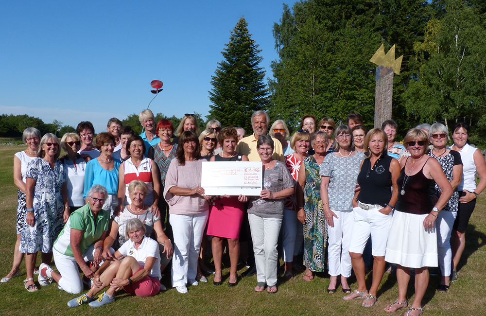 Damengolf auf dem Attighof - Golfen für einen guten Zweck